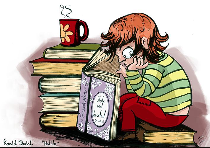 """""""Matilda"""" von Roald Dahl"""