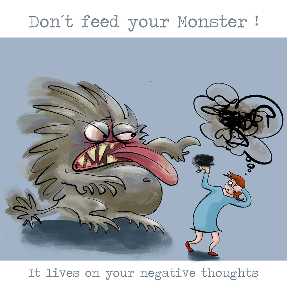 """Don´t feed your Monster 1"""