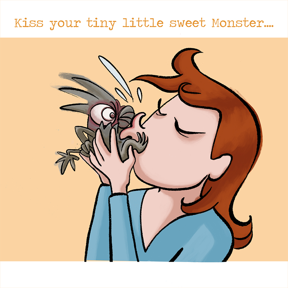 """Don´t feed your Monster 9"""