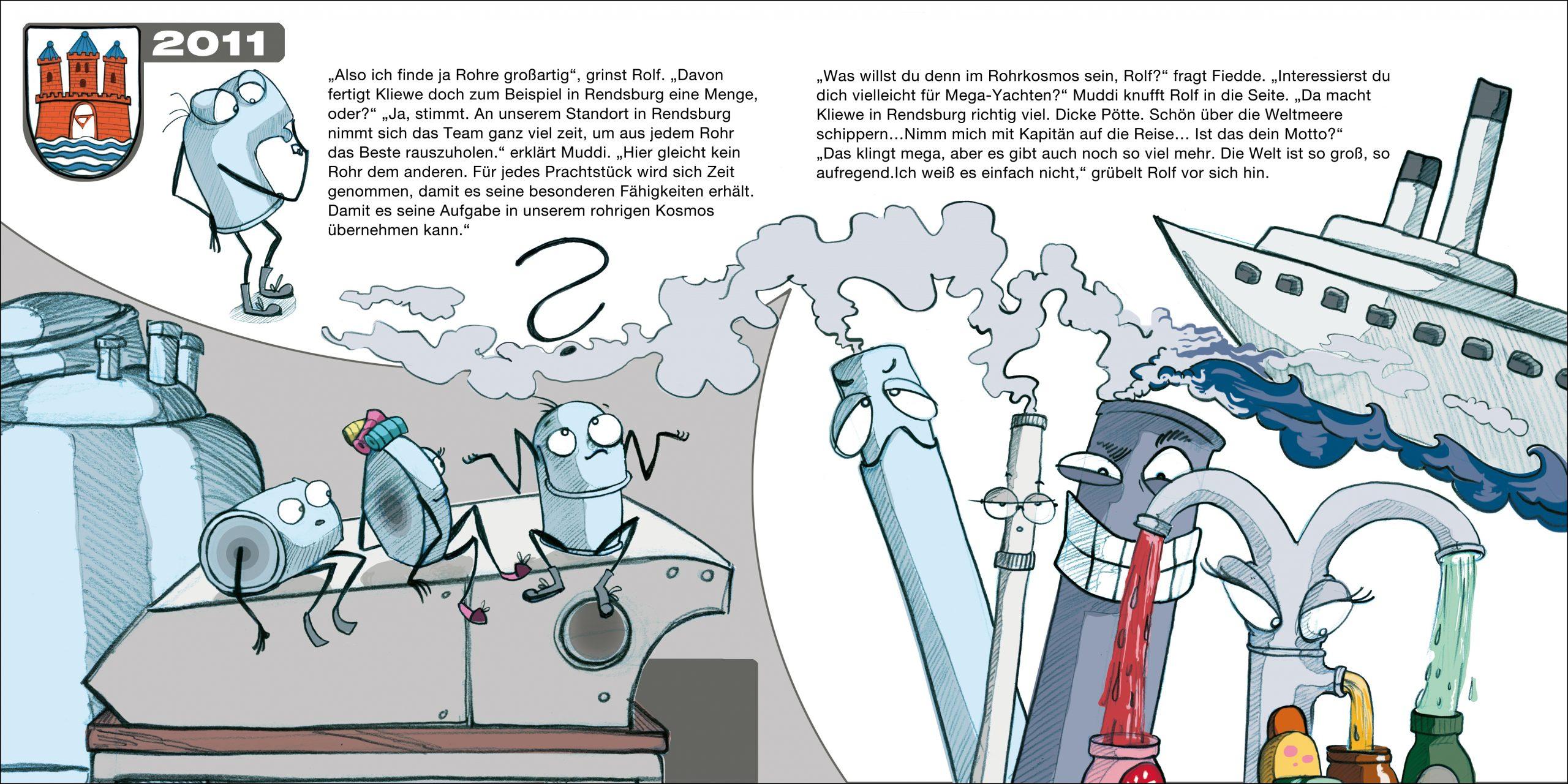 GK Kliewe Infobroschüre, Handlungsstrang 1, Doppelseite 7