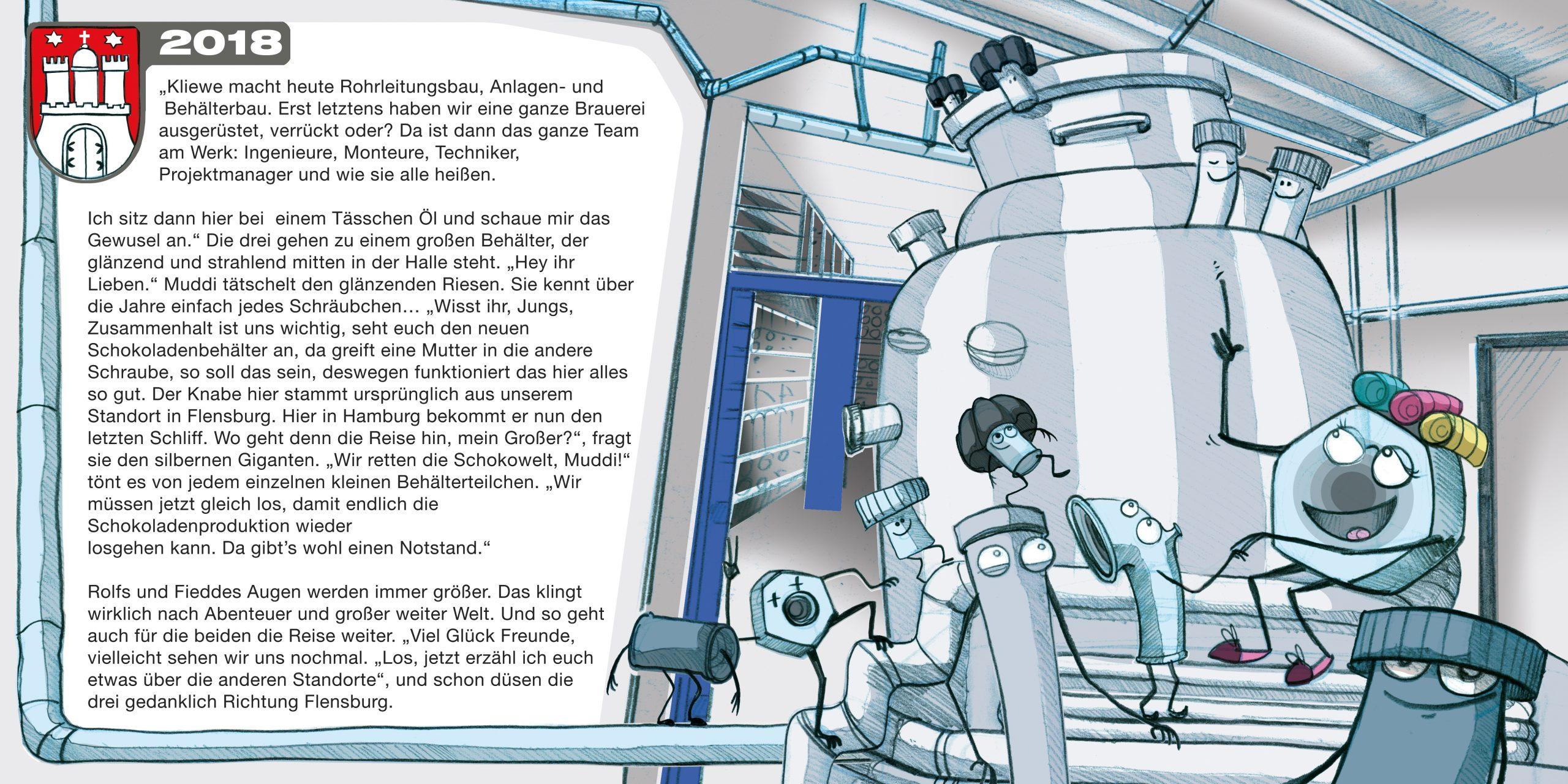 GK Kliewe Infobroschüre, Handlungsstrang 1, Doppelseite 4