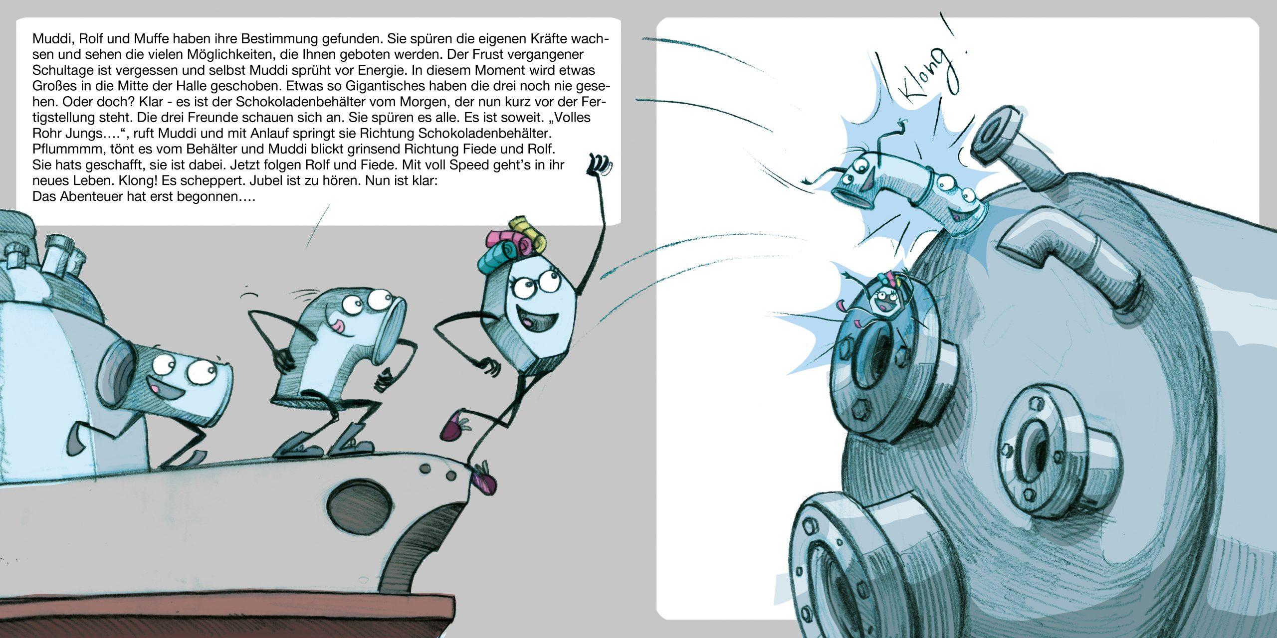 GK Kliewe Infobroschüre, Handlungsstrang 1, Doppelseite 10