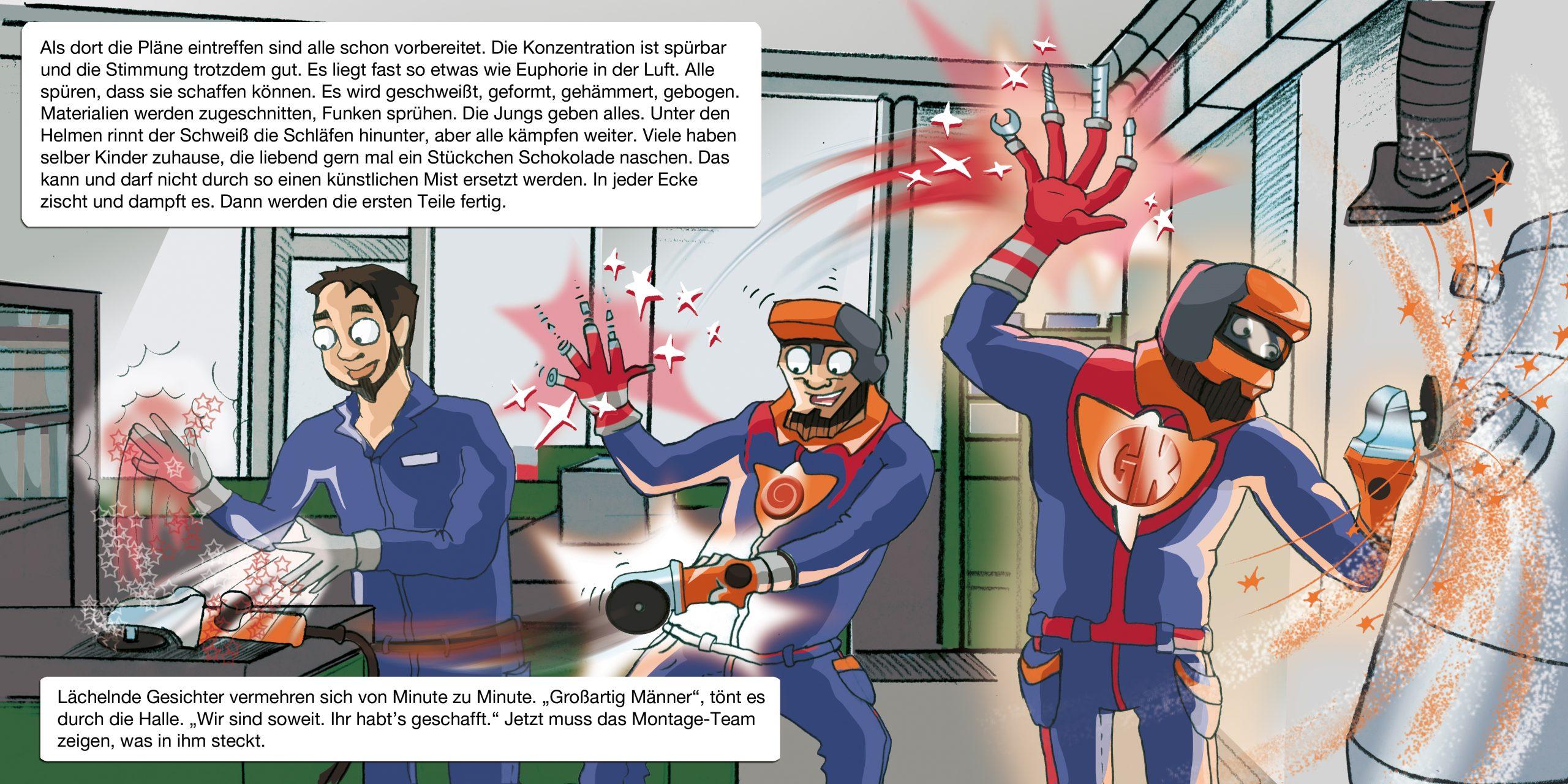 GK KLIEWE Infobroschüre, 2. Handlungsstrang, Doppelseite 8