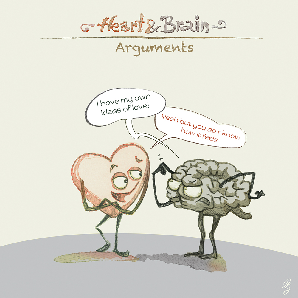 "Heart and Brain ""Arguments"""