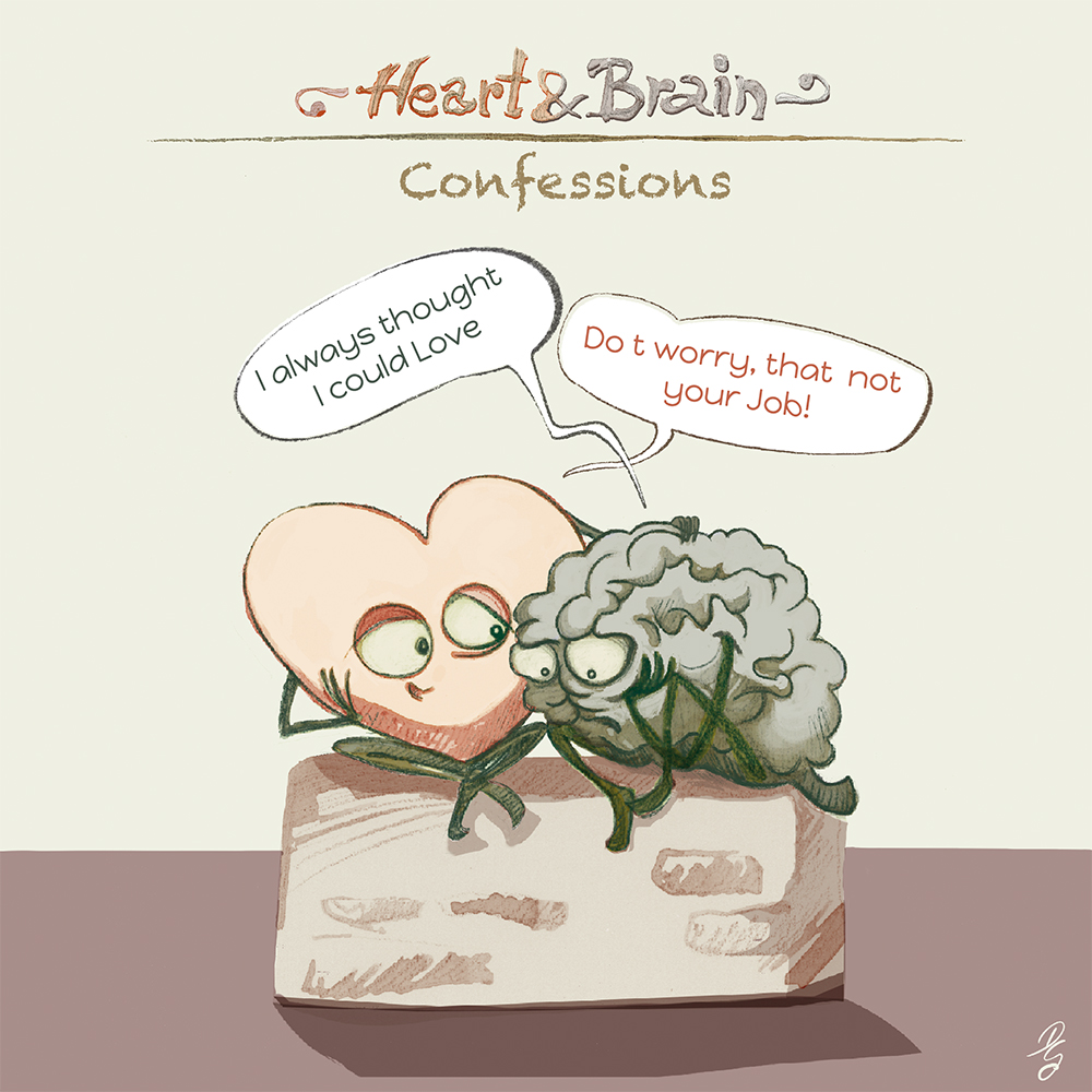 "Heart and Brain ""Confessions"""