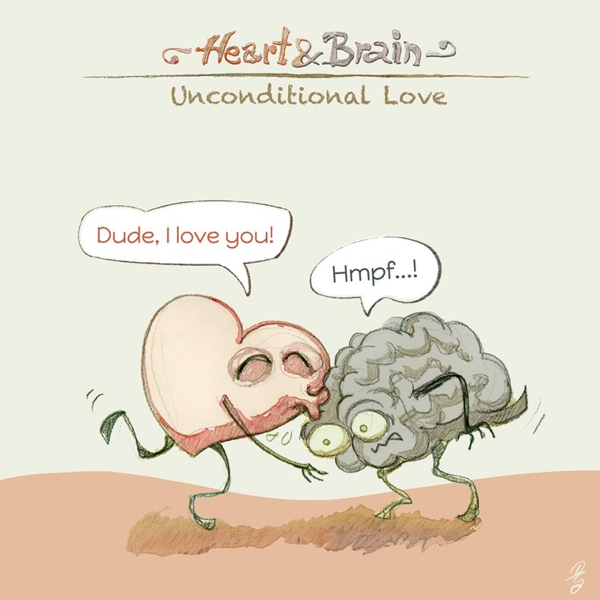 "Heart and Brain ""Unconditional Love"""