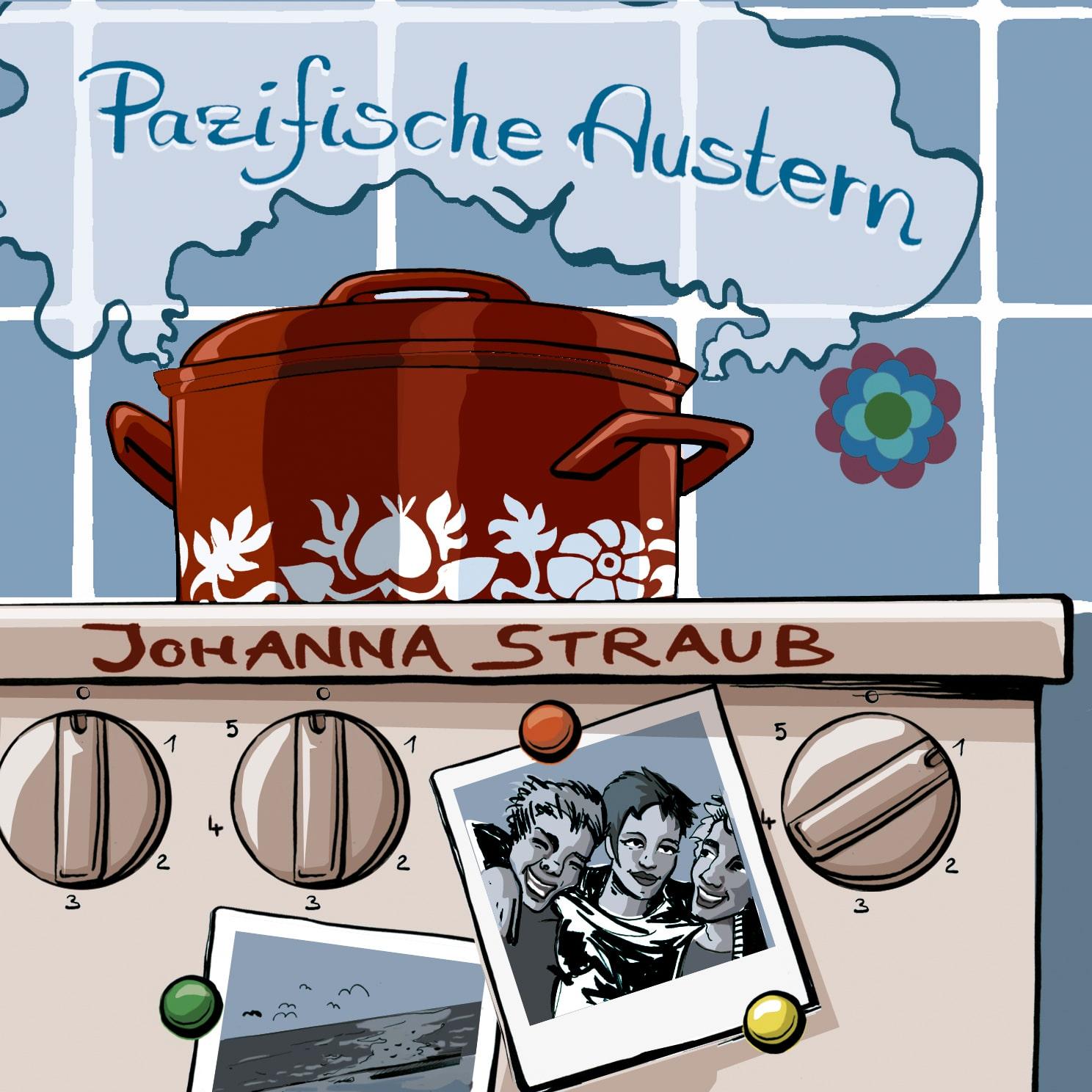 """""""Pazifische Austern"""" von Johanna Straub"""